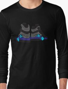 Aqua 8s Long Sleeve T-Shirt