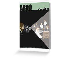 Argo Greeting Card