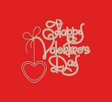Happy Valentines Day Theme Unisex T-Shirt