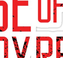 Rise of the Lady Reds Sticker