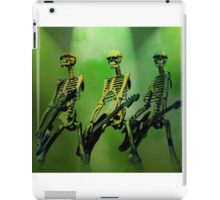 Rock n Roll Dem Bones iPad Case/Skin