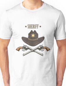 Sheriff Emblem Unisex T-Shirt