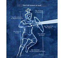 Full Armor of God - Warrior 3 Photographic Print