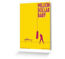 Million dollar baby Greeting Card