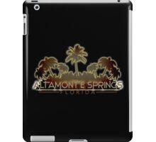 Altamonte Springs Florida palm tree design iPad Case/Skin