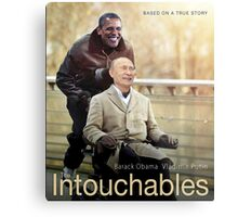 "Putin And Obama in ""Les Intouchables"" Metal Print"