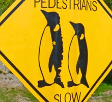 Slow Pedestrians Sticker