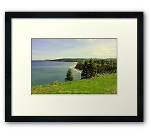 Roadside Vista Framed Print