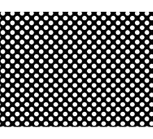 Black with White Dots small Photographic Print