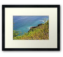 World's Edge 1 Framed Print
