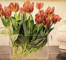 Tulips in Vase by Wendi Donaldson Laird