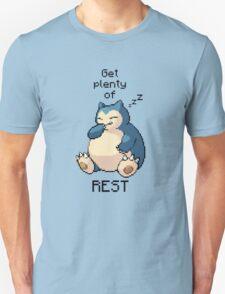 Pokemon | Get plenty of rest | Pokemon T-Shirt