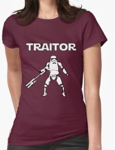 Star Wars TRAITOR (Star Wars font) Womens Fitted T-Shirt