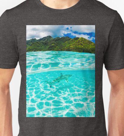 Black tip reef shark Unisex T-Shirt