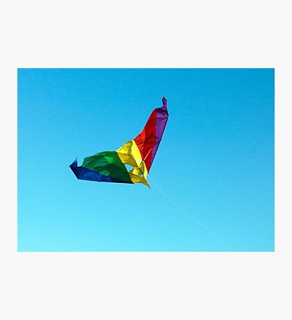 Simple Kite Photographic Print
