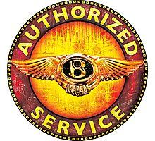 Bentley Vintage cars Photographic Print
