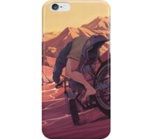 Strange Sunset iPhone Case/Skin