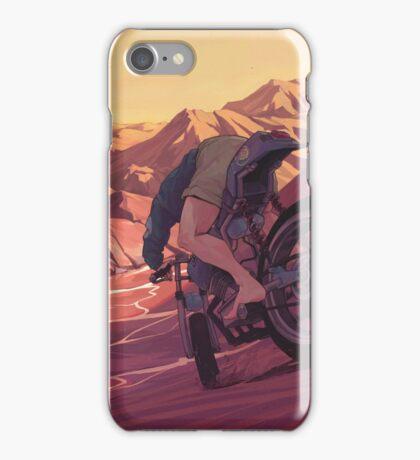 Strange Sunset iPhone Case/Skin