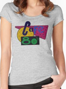 Cafe 80s Women's Fitted Scoop T-Shirt