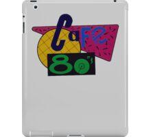 Cafe 80s iPad Case/Skin