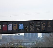 Pac Man, Never Give Up! by Navigator