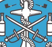 Haddock sailing the seas Sticker