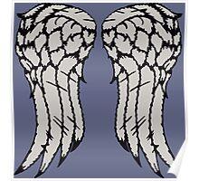 Daryl Wings Poster