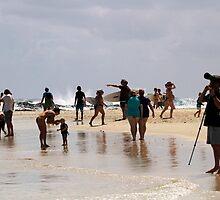 On The Beach by Noel Elliot