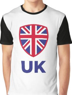 National Flag of the United Kingdom Graphic T-Shirt
