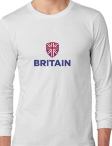 National flag of Great Britain Long Sleeve T-Shirt