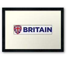 National flag of Great Britain Framed Print