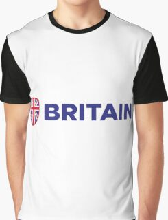 National flag of Great Britain Graphic T-Shirt