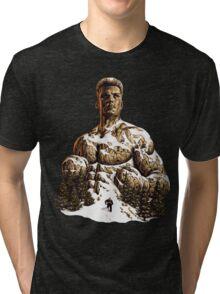 Climbing the Mountain - Rocky IV - Ivan Drago Tri-blend T-Shirt