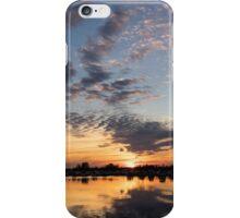 Smoky Apricot Sunset iPhone Case/Skin