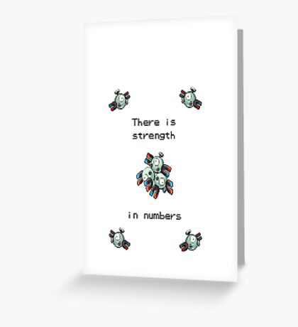 Pokemon - Magneton - Pokemon Greeting Card