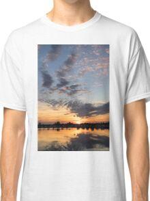 Smoky Apricot Sunset Classic T-Shirt