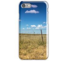Golden Grass and Blue Skies iPhone Case/Skin