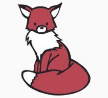 Little Red Fox One Piece - Long Sleeve