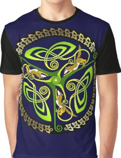 Canine Triskelion Graphic T-Shirt