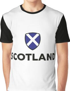 National Flag of Scotland Graphic T-Shirt