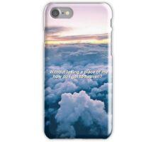 Heaven Lyrics iPhone Case/Skin