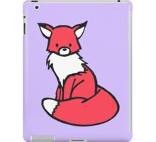 Little Red Fox iPad Case/Skin
