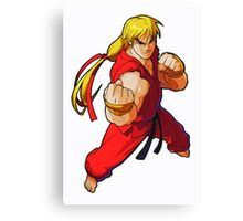 StreetFighter Alpha Ken Canvas Print