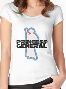 """""""Princess—General, Sorry."""" Women's Fitted Scoop T-Shirt"""