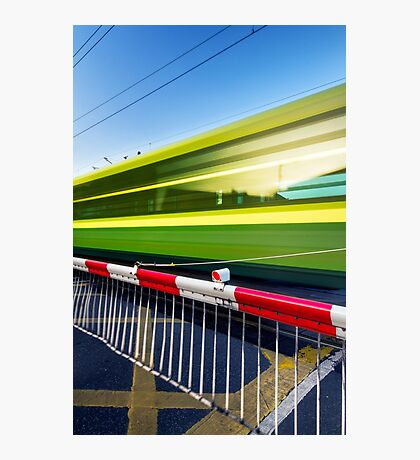 Fast train Photographic Print