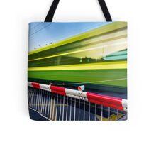 Fast train Tote Bag