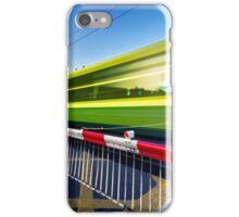 Fast train iPhone Case/Skin