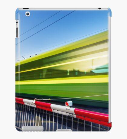 Fast train iPad Case/Skin