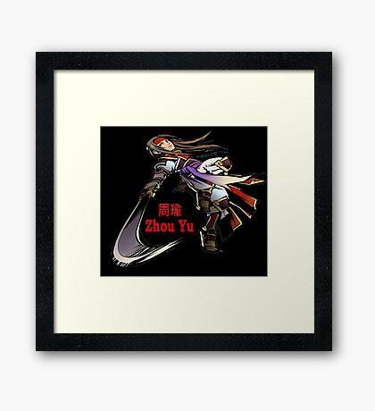 Zhou Yu Framed Print