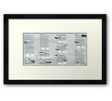 WW2 Warbirds part2 Framed Print